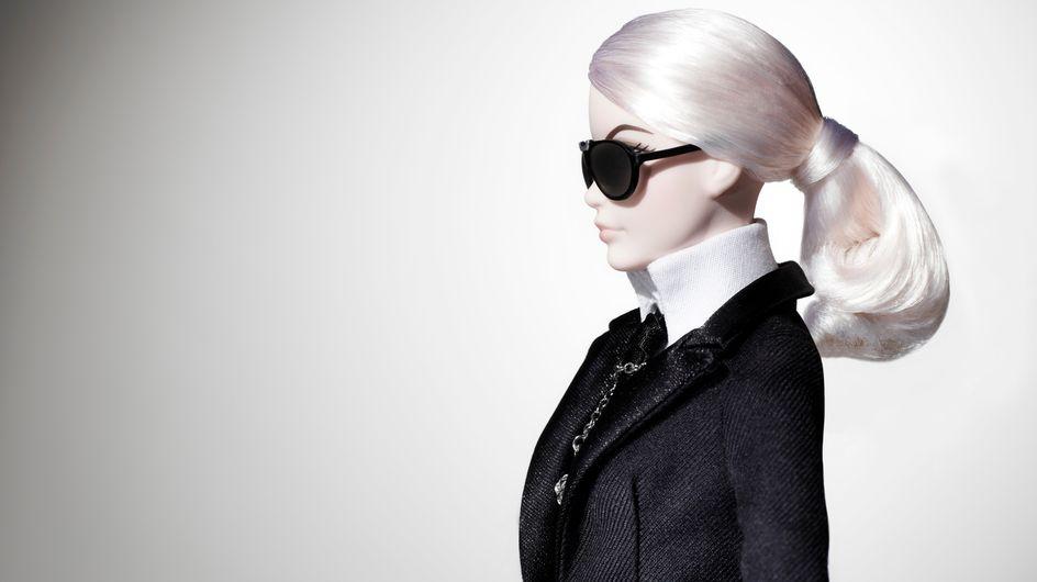 Una Barbie a su imagen y semejanza y otras excentricidades de Karl Lagerfeld que no sabías