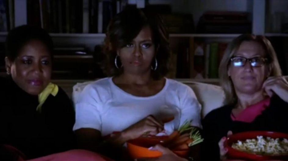 Obésité : Michelle Obama, Chloë Moretz et Tyler Posey parodient Divergente pour lutter contre la malbouffe (Vidéo)