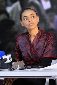 Marina Silva, candidate aux élections présidentielles du Brésil