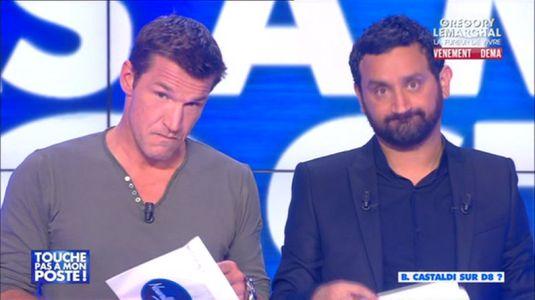 Benjamin Castaldi et Cyril Hanouna dans Touche Pas A Mon Poste le 3 septembre 2014