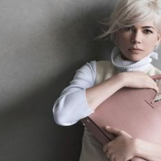 Michelle Williams : Rétro pour la nouvelle campagne Louis Vuitton