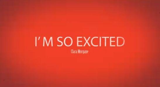 "Le teaser de Clara Morgane pour son nouveau clip ""I'm so excited"""
