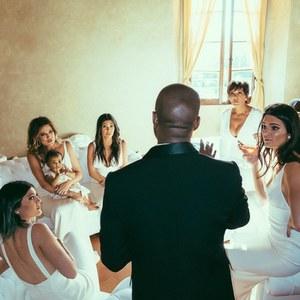 Le clan Kardashian réuni pour le mariage de Kim et Kanye