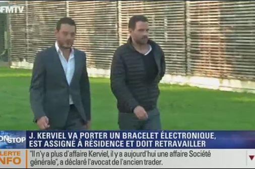 Jérôme Kerviel et son avocat