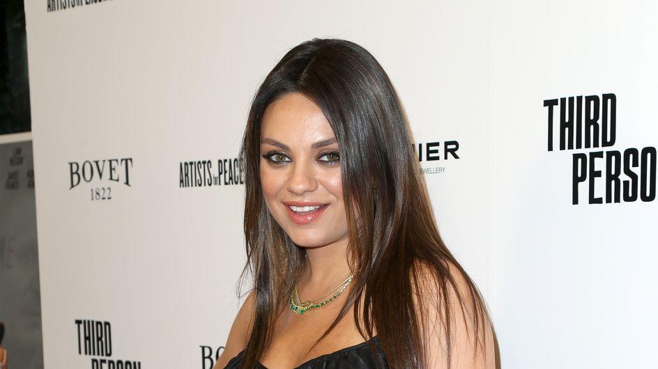 """Mila Kunis : """"Nerveuse"""" à l'approche de son accouchement"""