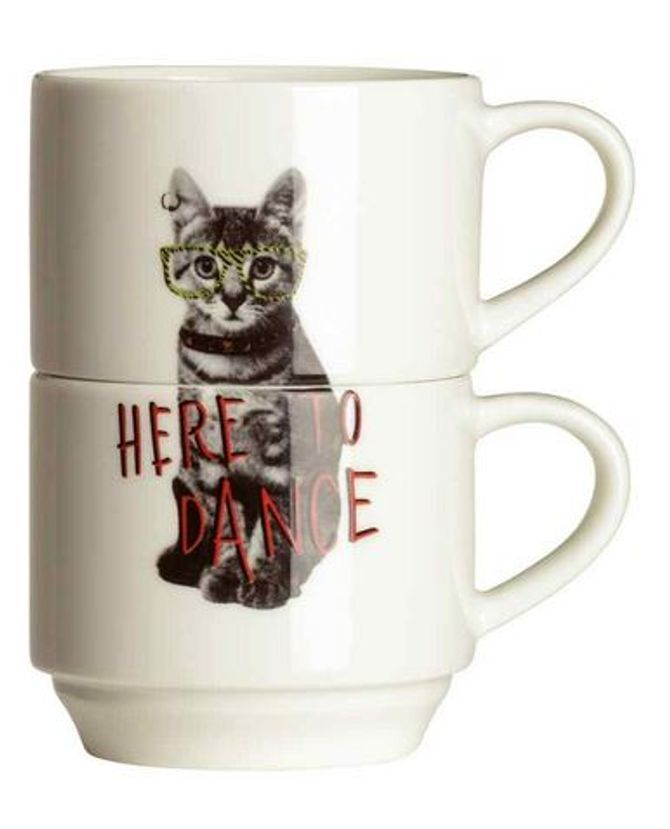 Lot de 2 tasses - H&M - 5,90€
