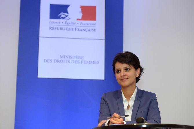 La ministre Najat Vallaud Belkacem