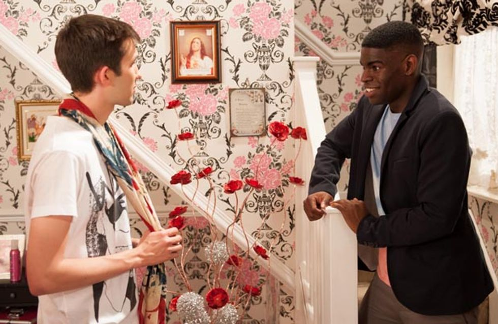 Hollyoaks 18/09 – Tony must decide where his loyalties lie