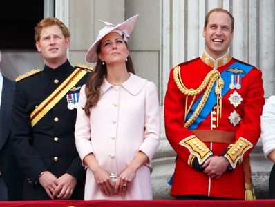 Kate Middleton pendant sa première grossesse avec William et Harry
