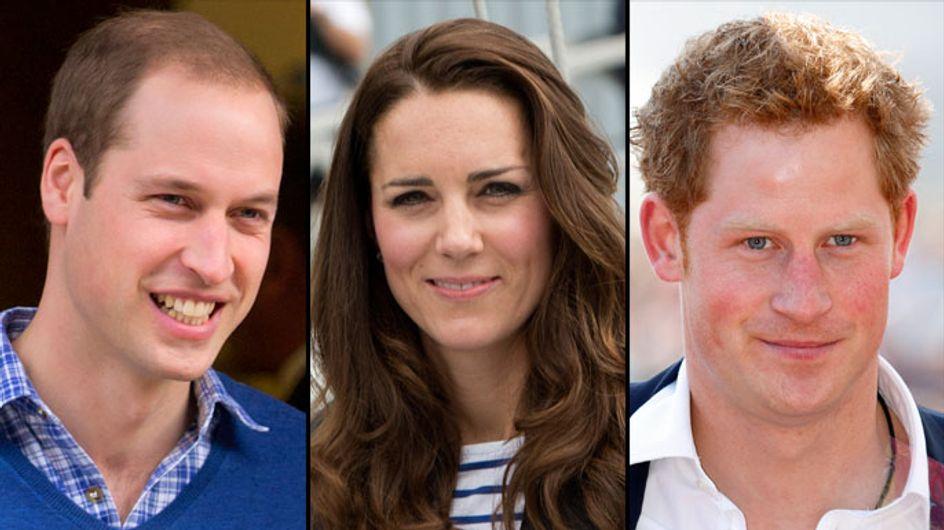 """Kate Middleton enceinte : William """"heureux"""", Harry pressé de le voir """"souffrir"""""""