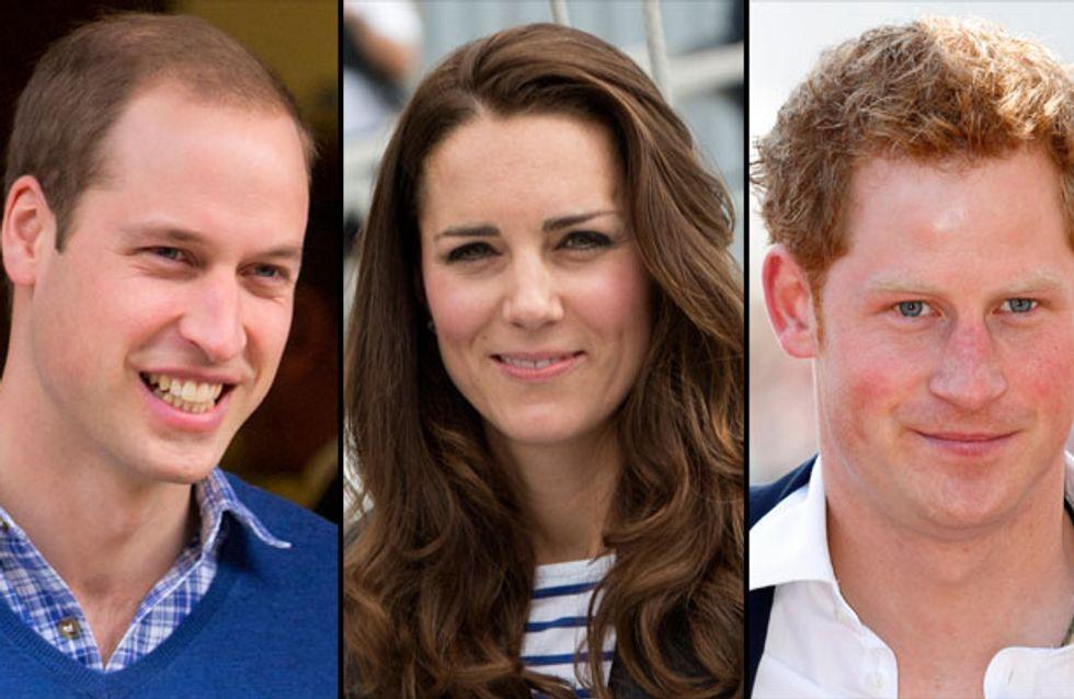 Kate Middleton enceinte : William heureux, Harry pressé de le voir souffrir