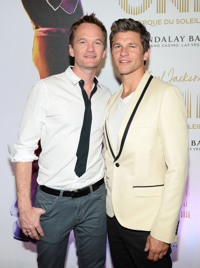 Le couple Neil Patrick Harris et David Burtka