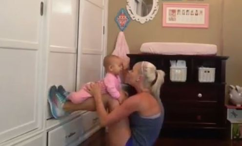 Criscilla y su hija Emmarie