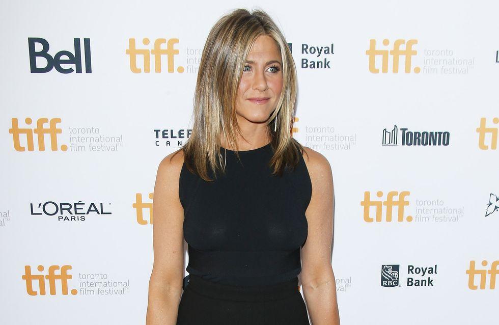 Jennifer Aniston : Le soutien-gorge est en option