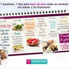 La escalera nutricional: el método Dukan más fácil