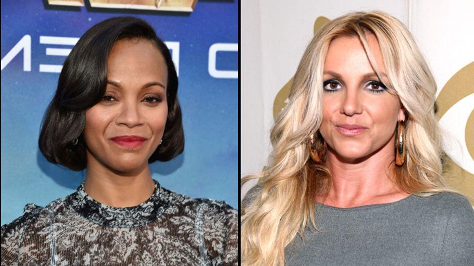 Zoe Saldana enceinte de jumeaux ? Britney Spears balance