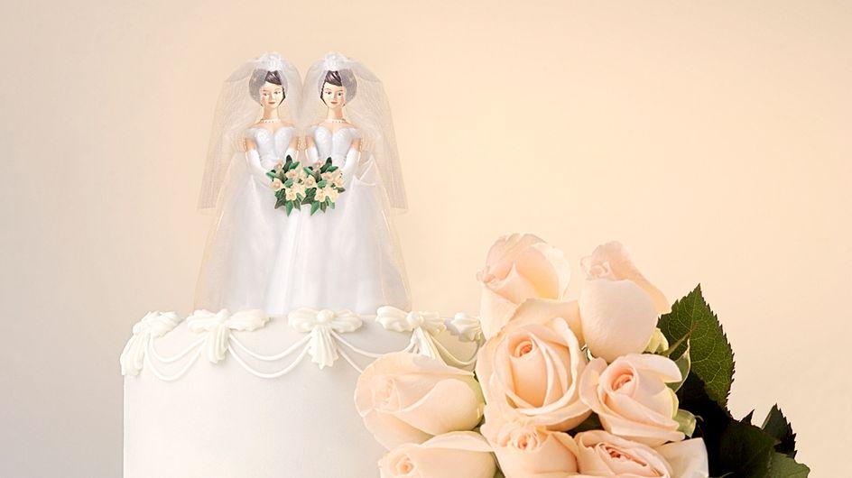 Dos mujeres se casan después de 72 años de vida en común