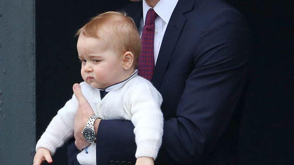 Wie bitte, ein Geschwisterchen? Baby George ist not amused!