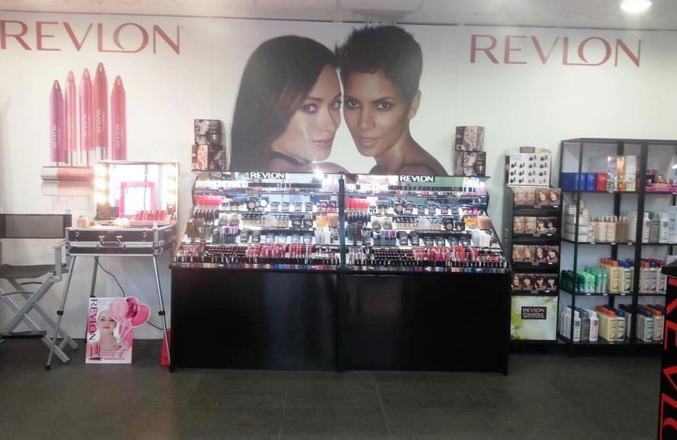 Revlon porta la bellezza alla Stazione Termini di Roma