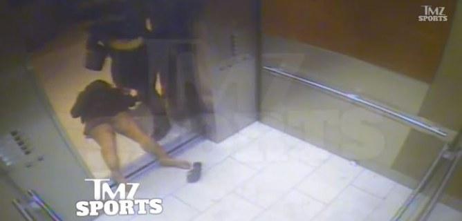 Ray Rice bat sa petite amie dans l'ascenseur