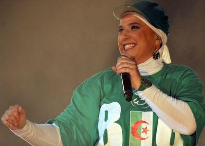 La chanteuse Diam's