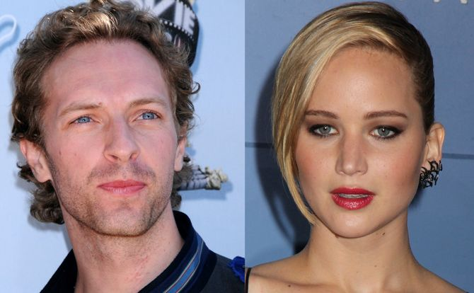 Jennifer Lawrence e Chris Martin: è nato l'amore?