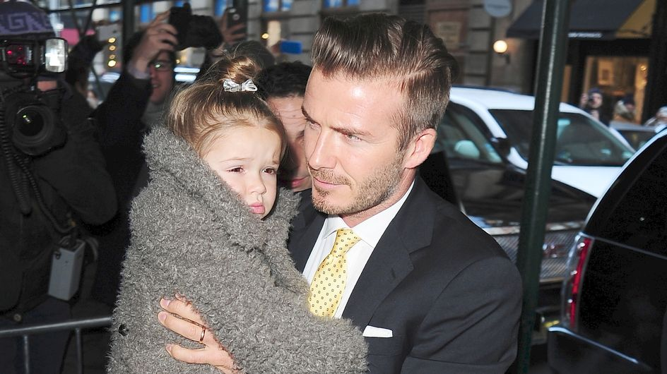 Harper Beckham : Habilleuse personnelle de son papa David Beckham