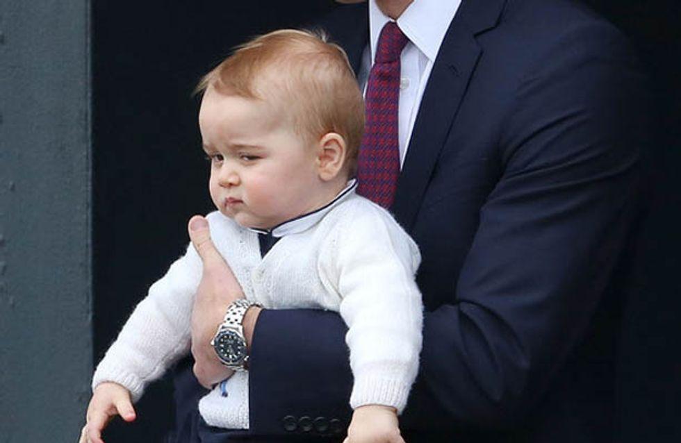 Ces 10 photos prouvent que le prince George veut rester fils unique