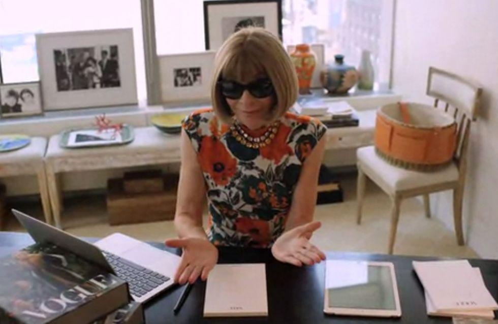 Anna Wintour : L'interview à laquelle on ne s'attendait pas (Vidéo)
