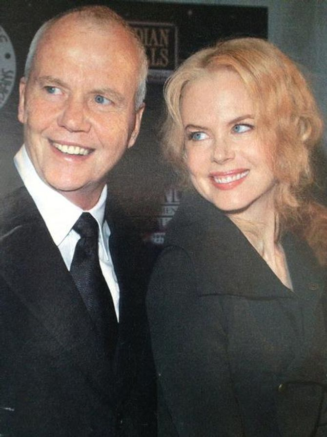 Nicole Kidman et son papa