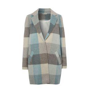 Pastel Check Coat - £32