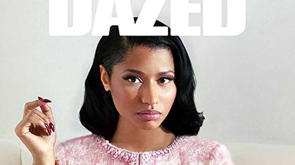 """Nicki Minaj : Méconnaissable pour """"Dazed & Confused Magazine"""" (Photos)"""