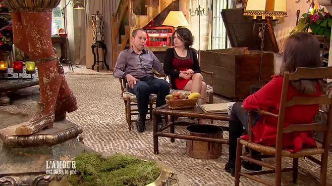 Bertrand et Marie évoquent leur amour avec Karine Le Marchand