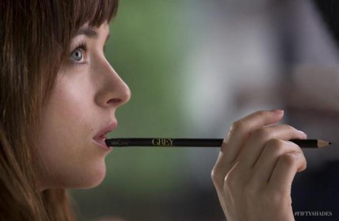 Le visuel d'anniversaire d'Anastasia Steele