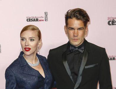 Scarlett Joahnsson und ihr Verlobter