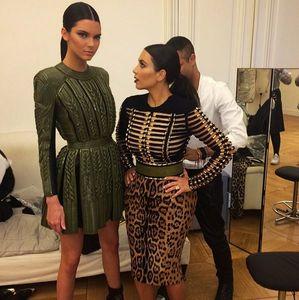 Kendall Jenner et Kim Kardashian pour la Fashion Week de Paris
