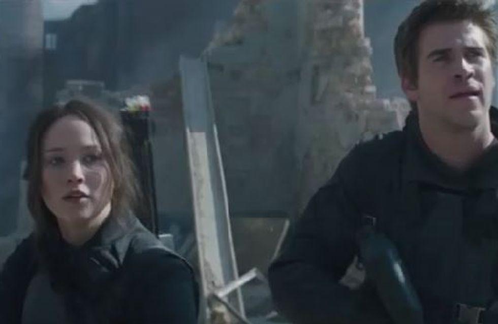 Hunger Games 3 : Jennifer Lawrence et Liam Hemsworth prennent les armes (Vidéo)