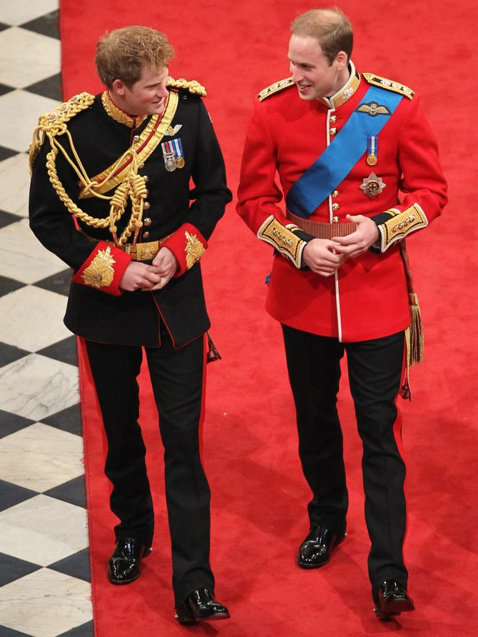 Harry et William