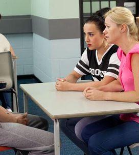 Hollyoaks 26/09 - Carmel is horrified