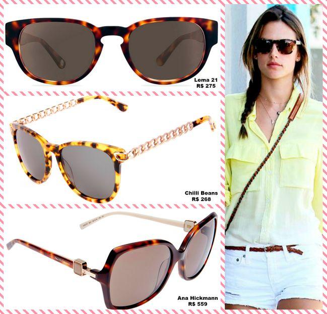 72da837ad Os óculos de sol mais lindos e estilosos da temporada
