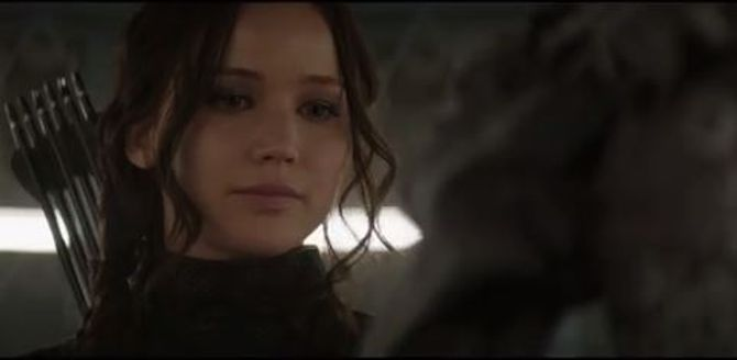 Katniss Everdeen dans la nouvelle bande-annonce