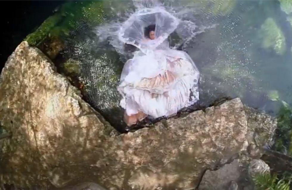 Ihr Verlobter stirbt kurz vor der Hochzeit. Was diese Braut dann tut, macht uns sprachlos!