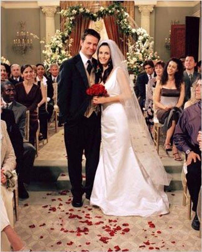 Monica et Chandler se marient
