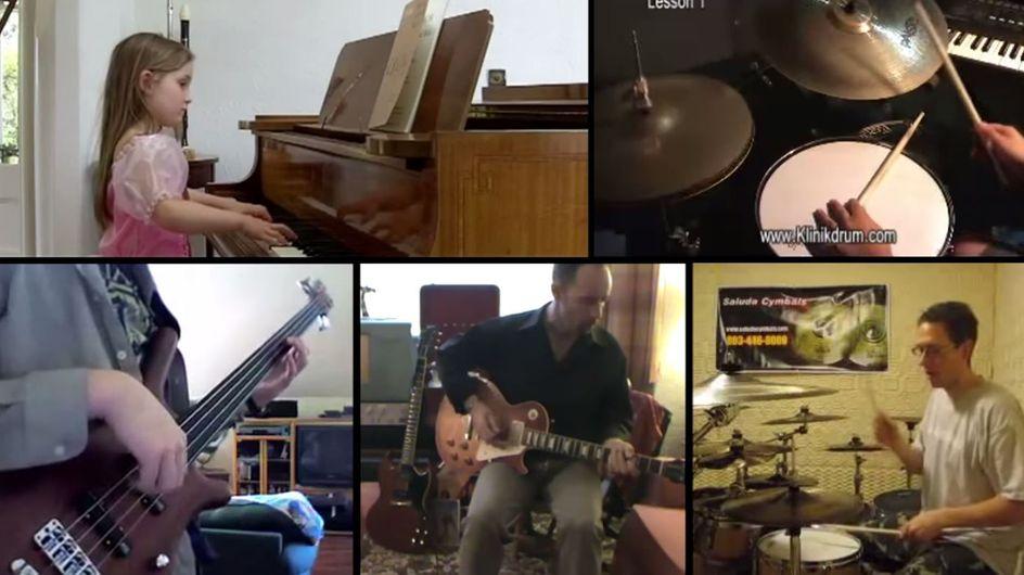 Give It Up, le mix hallucinant d'un musicien avec des vidéos YouTube