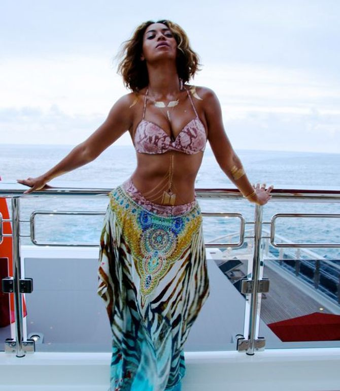 Beyoncé en bikini