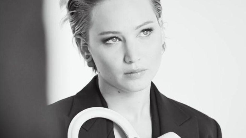 Jennifer Lawrence : Puissante pour la nouvelle campagne Dior (Photos et vidéo)