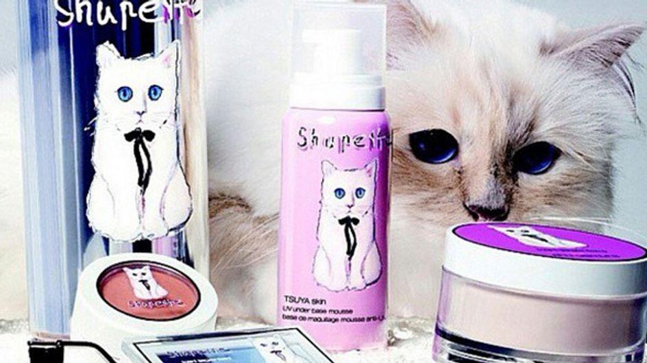 "Karl Lagerfeld : On veut le maquillage ""Shupette"""