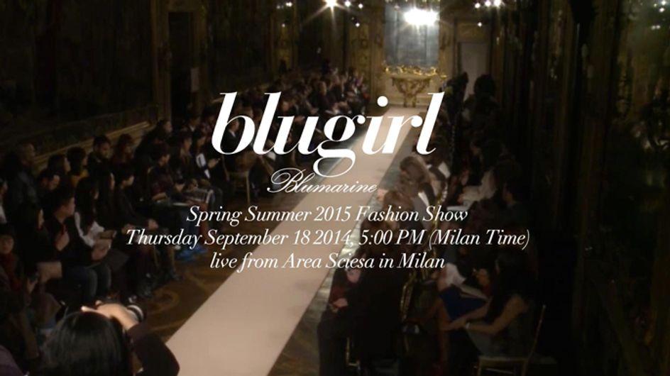 Video/ Blugirl fashion show primavera estate 2015