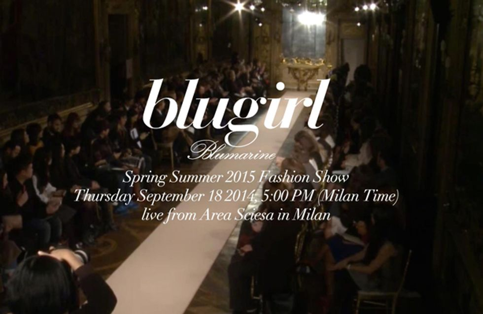 Video/ Blugirl fashion show primavera estate 2015