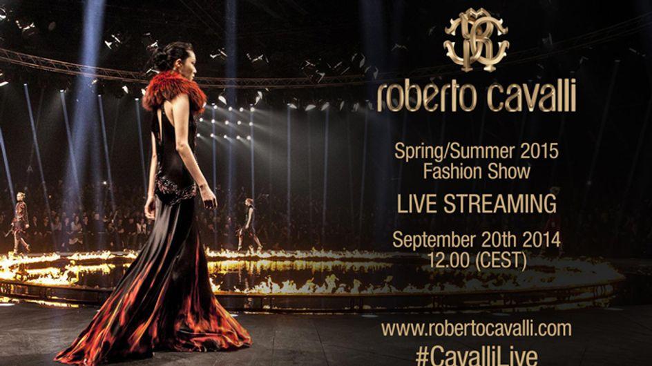 Video/ Roberto Cavalli fashion show primavera estate 2015